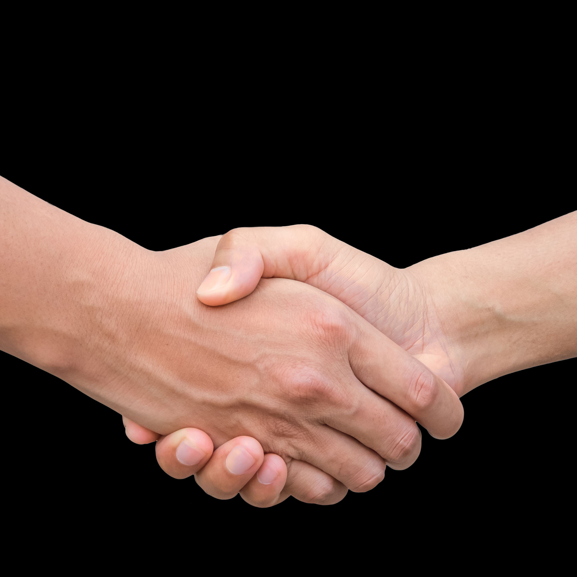 relationship, two people shaking hands